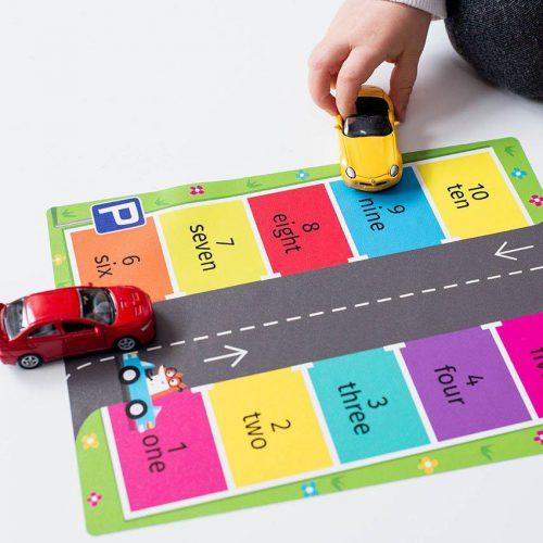 Maths & moves – car parking