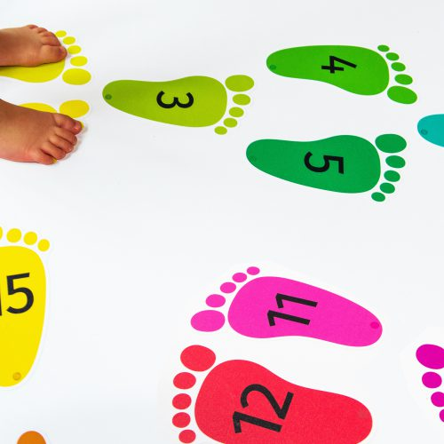 Maths & Moves – Footprints